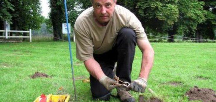 Lutte taupe taupier sur la france for Taupe dans le jardin