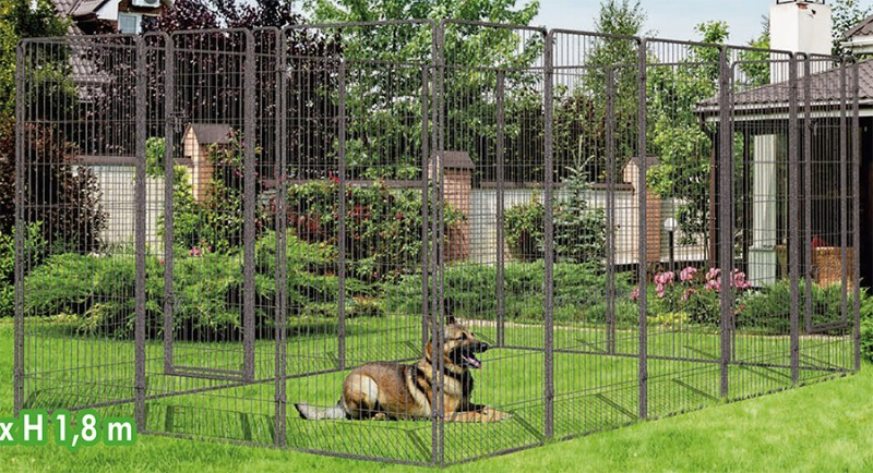 cage pour grand chien pas cher taupier sur la france. Black Bedroom Furniture Sets. Home Design Ideas