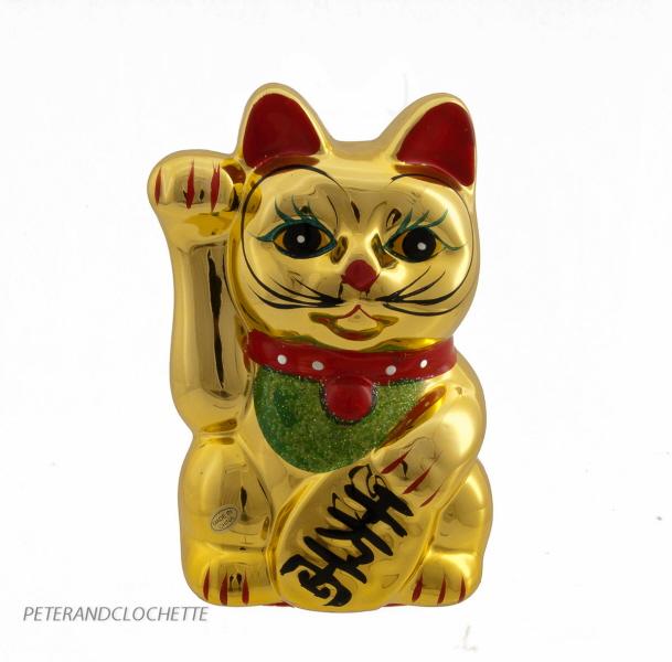 Chat japonais taupier sur la france - Porte bonheur chinois chat ...