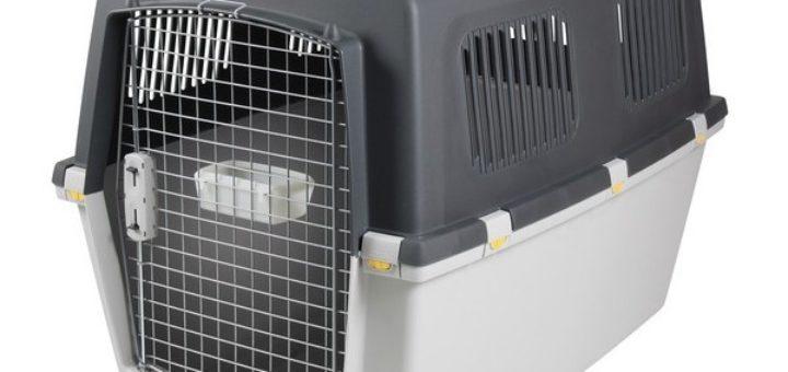 cage de transport chien pas cher taupier sur la france. Black Bedroom Furniture Sets. Home Design Ideas