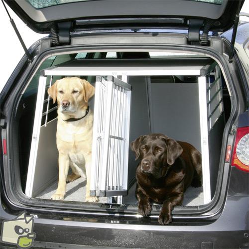 grande cage transport chien taupier sur la france. Black Bedroom Furniture Sets. Home Design Ideas